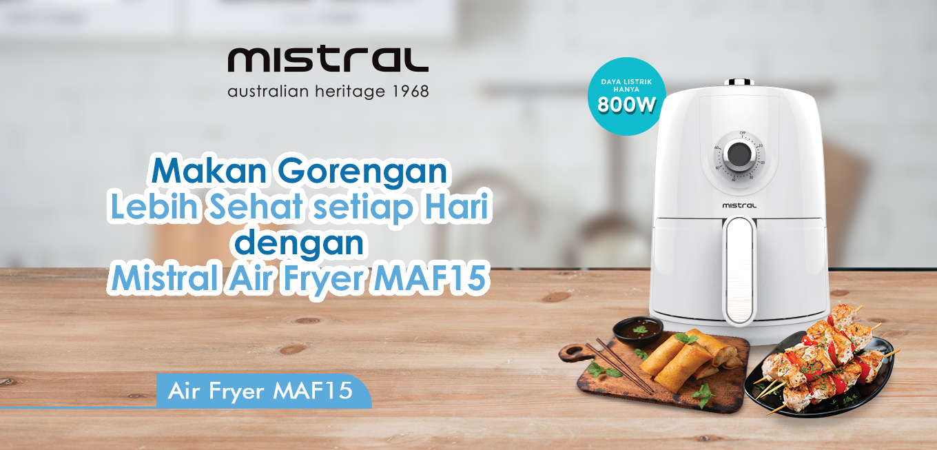 Launching Mistral Air Fryer MAF15